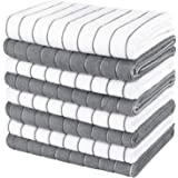"""AIDEA Kitchen Towels Microfiber Dishcloth 18""""x26"""", Super Soft and Absorbent-8 Pack, Multi-Purpose Dish Towels for Home, Kitch"""