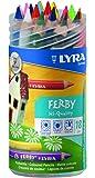 リラ LYRA 文具 色鉛筆 三角グリップ 美しい発色 ファルビー 軸カラー 18色 PPボックスセット