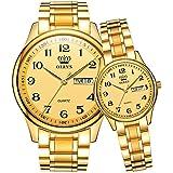 ペア 腕時計 ペアウォッチ カップル 人気 メンズ レディース ペア 時計セット うで時計 メタルバンド ステンレスバン…
