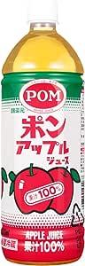えひめ飲料 POM アップルジュース 1L PET×6本