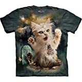 The Mountain Men's Zombie Cat T-Shirt