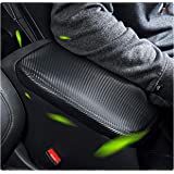 YEE PIN Car Center Armrest Cover Saver Console Lid Cover Fit for 2019 RAV 4 XA50 Center Console Armrest Box Scratch Resistanc