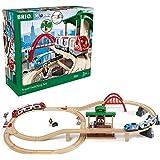 BRIO ( ブリオ ) WORLD トラベルレールセット [全42ピース] 対象年齢 3歳~ ( 電動車両 電車 おもちゃ 木製 レール ) 33512