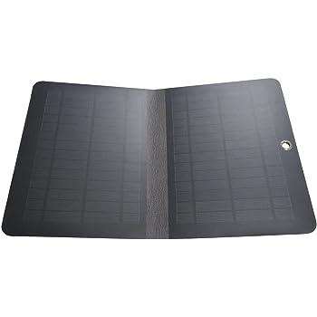 iPhoneを最短90分で急速充電できる発電力で、iPadサイズの4mm極薄ソーラーパネルSS-10W2F薄曇でも発電できる単結晶型