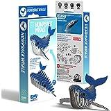 EUGY 051 Humpback Whale Eco-Friendly 3D Paper Puzzle
