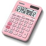 カシオ カラフル電卓 ペールピンク 12桁 ミニジャストタイプ MW-C20C-PK-N