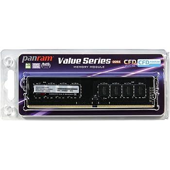 CFD販売  デスクトップPC用メモリ PC4-17000(DDR4-2133) 4GB×1枚 288pin DIMM (無期限保証)(Panramシリーズ) D4U2133PS-4G