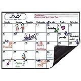 Levoit Monthly Planner Whiteboard Fridge Calendar 2021 Magnetic Monthly Planner Calendar for Fridge 40x30cm, Australia Monthl