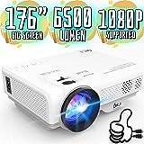 3800Lumens Portable Projector for Home Theater Entertainment, Full HD 1080P Supported Mini Projector HDMI AV USB Sound Bar Su