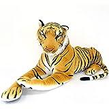 伊豆シャボテン本舗 トラ タイガー 特大 ぬいぐるみ 動物 抱き枕 リアル インテリア 部屋 装飾 (105cm)