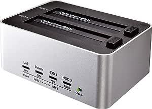 玄人志向 SSD/HDDスタンド 2.5型&3.5型対応 USB3.0接続 PCレスでボタン1つ、HDDまるごとコピー可能 KURO-DACHI/CLONE/U3