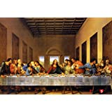 [Puzzle Life] Leonardo Da Vinci Last Supper | 1000 Piece - Free Logic Games for Couples, Child, Teens, Senior. Brain Puzzles