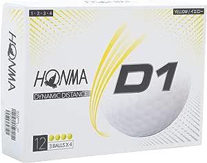 本間ゴルフ HONMA ゴルフボール D1