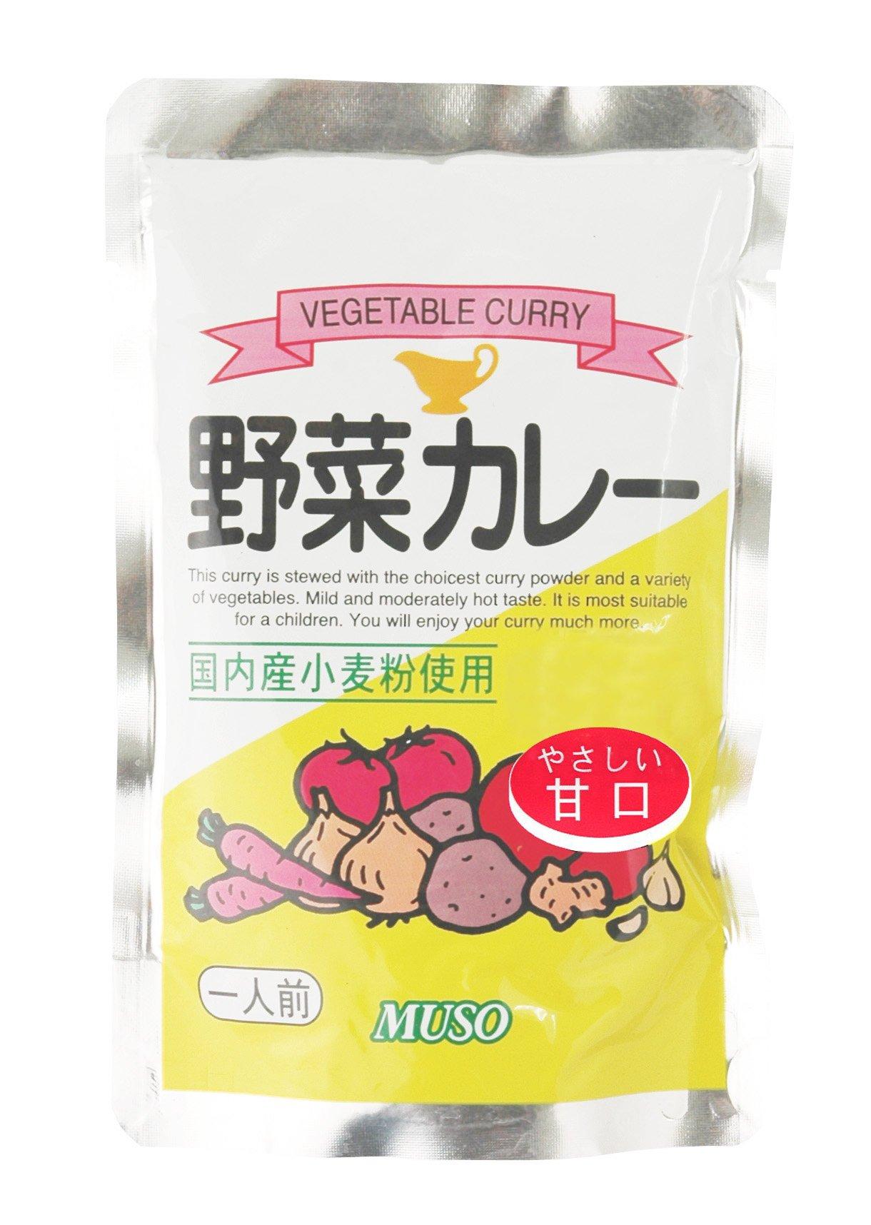 ムソー 野菜カレー 甘口(200g)