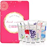 Hand Cream Gift Set, Body & Earth Luxurious Hand Lotion Set Deeply Moisturizing for Rough Hands, Enriched with Shea Butter an