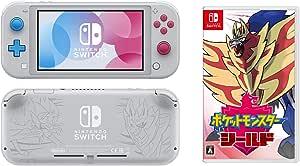 Nintendo Switch Lite ザシアン・ザマゼンタ + ポケットモンスター シールド -Switch【Amazon.co.jp限定】金のボストン / リュックが先行入手できるコード 配信