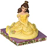 "Enesco Disney Traditions by Jim Shore Beauty and The Beast Belle Personality Pose Figurine, 3.5"", Multicolor"