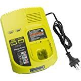 Fast Battery Charger for Ryobi 12V-18V One+ Plus Li-ion and NiCad NiMh Battery Model P100 P101 P102 P103 P105 P107 P108 P200