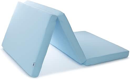 エアウィーヴ マットレス スマートZ シングル 三つ折り ブルー 厚さ9cm 1-151011-1