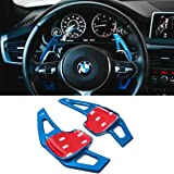 For BMW Paddle Shifter Extensions,Jaronx Aluminum Metal Steering Wheel Paddle Shifter(Fits: BMW 2 3 4 X1 X2 X3 X4 X5 X6 serie