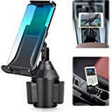 Tablet & Smartphone Car Cup Holder Mount 2-in-1 Universal Smarts Car Phone/Tablets Mount with Adjustable Automobile Cup Holde