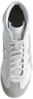 Mexico Mid Runner: White / Silver