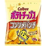 カルビー ポテトチップス コンソメパンチ 28g × 24袋