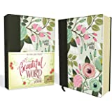NKJV Beautiful Word Bible, Red Letter Edition: 500 Full-color Illustrated Verses [Multi-color Floral Cloth]