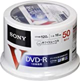 ソニー 録画用DVD-R CPRM対応 120分 16倍速 50枚パック 50DMR12MLPP
