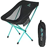 FE Active Folding Camping Chair - Compact, Lightweight & Portable Outdoor Chair. Great Camping Chairs for Adults & Kids. Idea