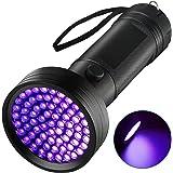 UV Flashlight Black Light Torch, Eocean 68 LED Ultraviolet Blacklight Flashlights Detector for Dog Urine, Pet Dry Stains, Bed