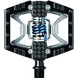 crankbrothers(クランクブラザーズ) 超軽量 ビンディングペダル ダブルショット ブラック 574635 [並行輸入品]