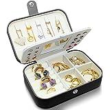 small jewelry box - mini jewelry box - Women travel jewelry case, Portable small jewelry organizer for Rings Earrings Necklac