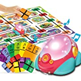 REMOKING STEM Educational Toys Coding Robot Car,Programmable Robot for Kids,Boys Girls,Science Kits  3 Years and up,4 in 1 Mu