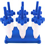Tovolo Blue Rocket Pops - Set of 6