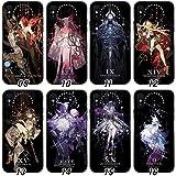 Fate/Grand Order ふじまる りつか マシュ・キリエライト/シールダー 携帯電話カバー スマホカバー Iphone保護ケース 強化 柔らかい軟らかい フォンケース アニメ漫画 薄型 耐衝撃 多機種 学生 大人 (14,iphone11)