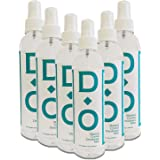 D-O 100% Natural, Crystal Deodorant Mist, 8 Floz, No Aluminum Chlorohydrate, Parabens, Propyls, or Other Chemicals (6 Pack)