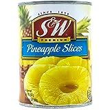 S&W Pineapple Slices, 567g