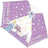 ディズニー プリンセス 折りたたみ傘 子供用 手開き キャラクター 折畳傘 アナと雪の女王2 53cm 90324