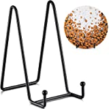 TR-LIFE Plate Stands for Display - 6 Inch Plate Holder Display Stand + Metal Frame Holder Stand for Picture, Decorative Plate