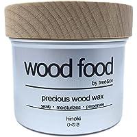 """Wood Food"" 天然艶出し蜜蝋ワックス (ひのき, 200ML)"