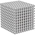OBEST マグネットボール 脳開発知恵玩具 ﹙5mm﹚ (球型シルバー) (1000個)
