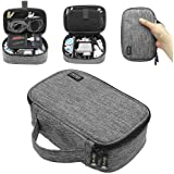 sisma Travel Electronics Organiser Carrying Case for Power Cords Power Bank Earbuds Hard Drives Memory Cards Laptop Adapter M