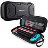 Mumba Carrying Case for Nintendo Switch, Deluxe Protective Travel Carry Case Pouch for Nintendo Switch Console & Accessories
