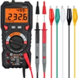Proster Digital Multimeter 6000 Count TRMS Multimeter AC/DC Voltage/Current NCV Temperature Resistance Diode Continuity with