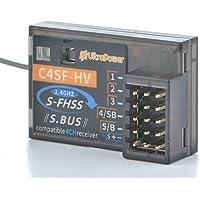 UltraPower Corona 受信機 【 S.BUS 2.4G S-FHSS フタバ 互換 】 (C4SFHV(車…