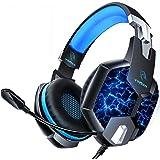 【2020最新版 7色変化LEDライト】YINSAN ゲーミングヘッドセット PC/PS4/Xbox One/Switc…