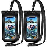 2枚セット [2020最新版] Syncwire 防水ケース スマホ用 IPX8認定 保護密封 iPhone 11 Pr…