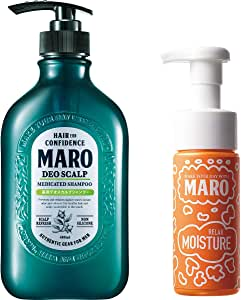 MARO(マーロ) 薬用 デオスカルプシャンプー 泡洗顔付き セット 480ml+泡洗顔150ml