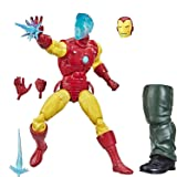 Hasbro Marvel Collectible Tony Stark (A.I.) Action Figure Toy For Age 4 And Up LEGENDS HALO 6 Multicolor